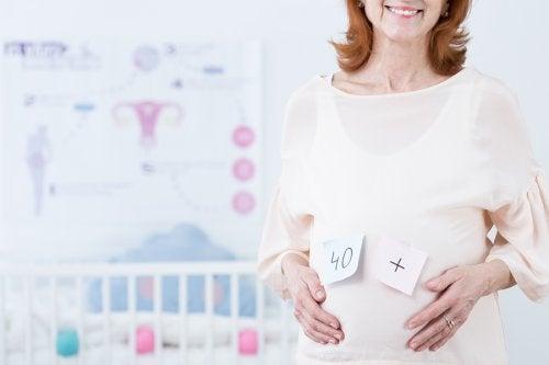Zwanger na je 40ste