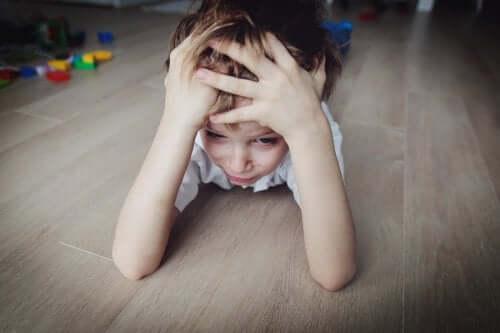 Angstig en gestrest kind