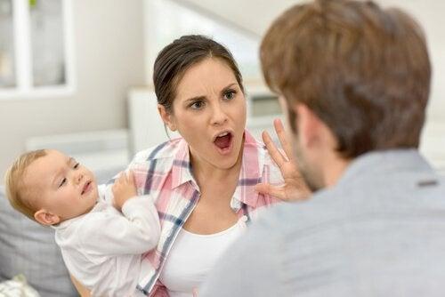 Huwelijk op de proef gesteld door moederschap