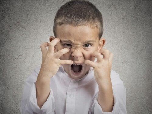 Een boos kind