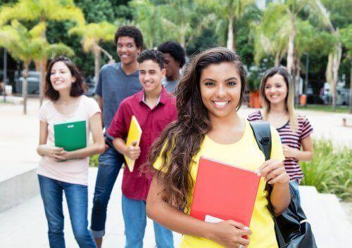 Omgaan met de eerste dag op de middelbare school