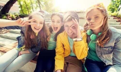 Vrienden zijn belangrijk voor pubers