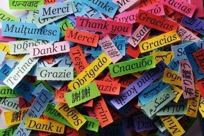 Dankjewel in vreemde talen