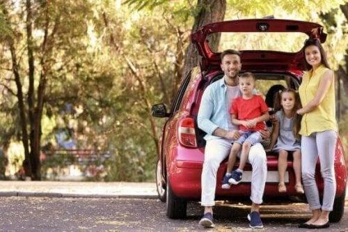 Gezinsauto's voor grote gezinnen