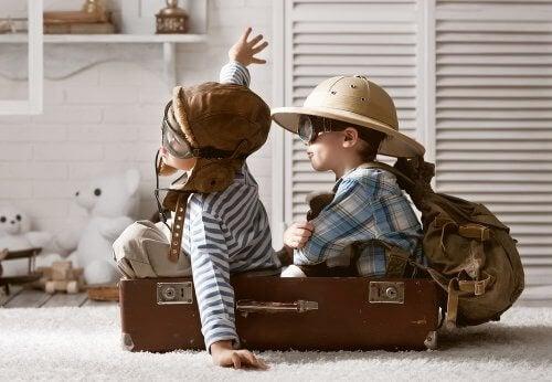 Kinderen leren door hun verbeelding