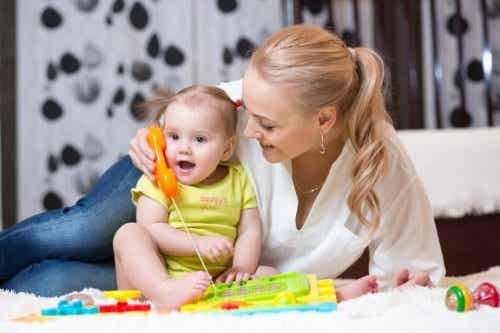 Tips om baby's te stimuleren, zodat ze gaan praten