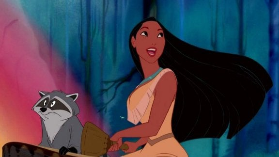 Pocahontas en meeko