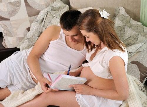 Voorbereiden op een bevalling