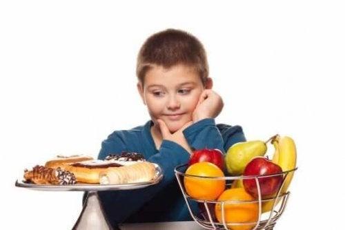 Ongezond en gezond eten