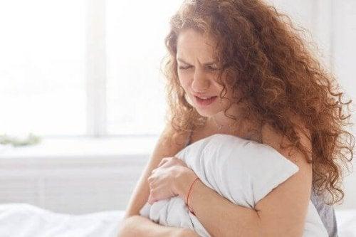 Het gevoel dat je moet huilen tijdens je menstruatie