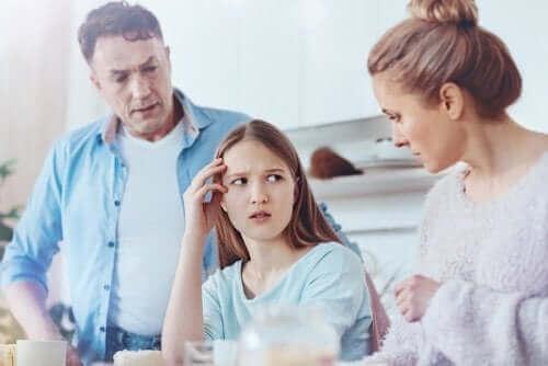Ouders zijn het niet eens over de opvoeding