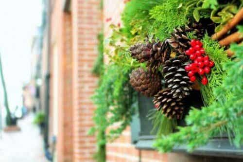 6 ideeën om je tuin voor kerst te versieren