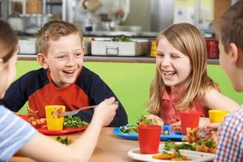 Voeding bij de schoolkantine