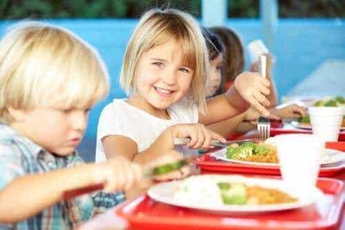 Alles over de voeding in een schoolkantine