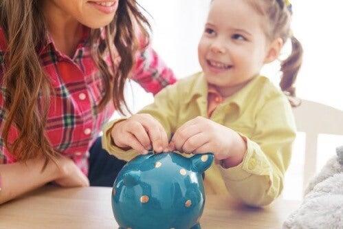 Het belang van kinderen de waarde van geld te leren