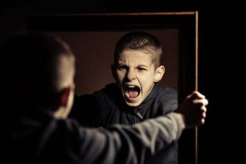 Een agressieve tiener