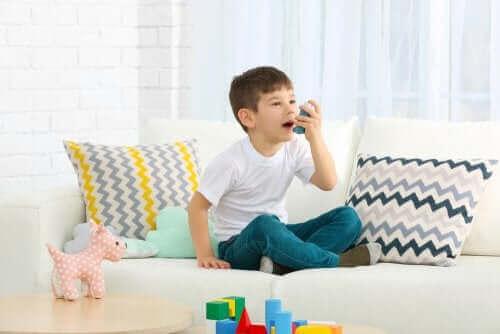 Kind met astma
