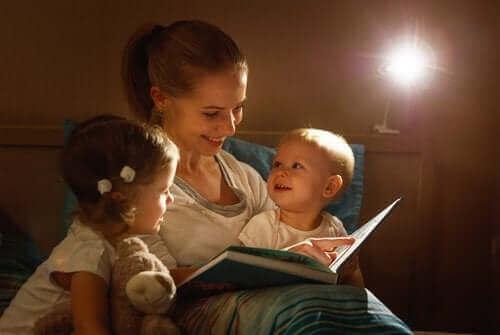 Kinderen voor te lezen is belangrijk