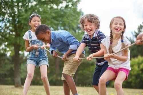 De basisbehoeften van de kindertijd