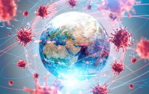 Coronavirus valt de aarde aan