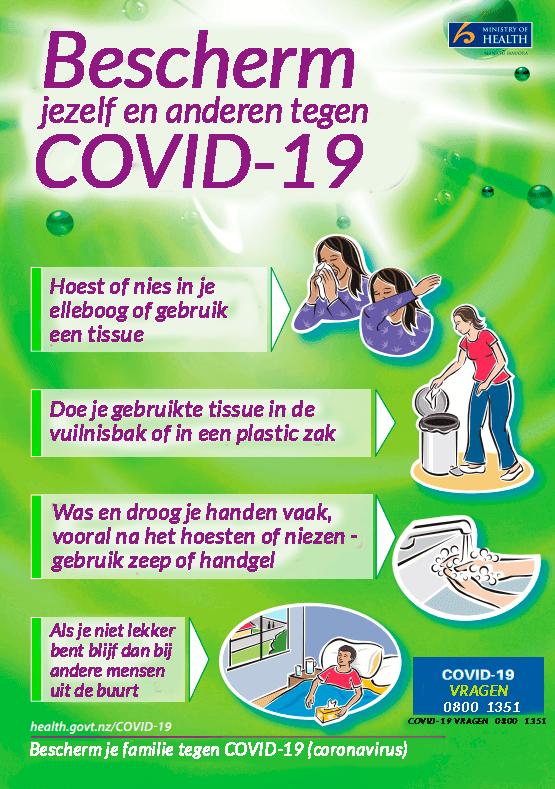 Voor baby's met het coronavirus zorgen