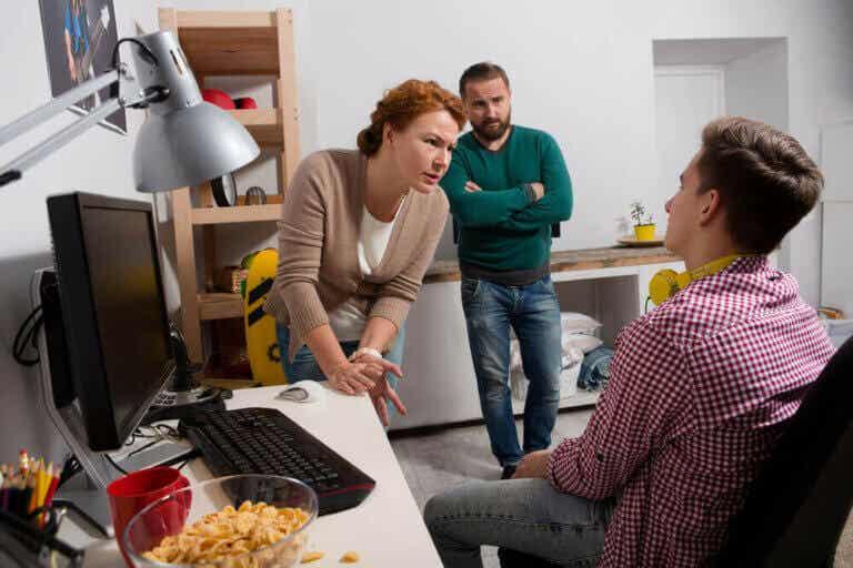 Reageren op conflicten met pubers tijdens quarantaine