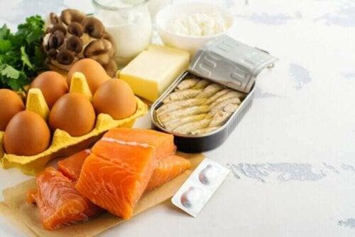 Voeding met vitamine D tijdens quarantaine