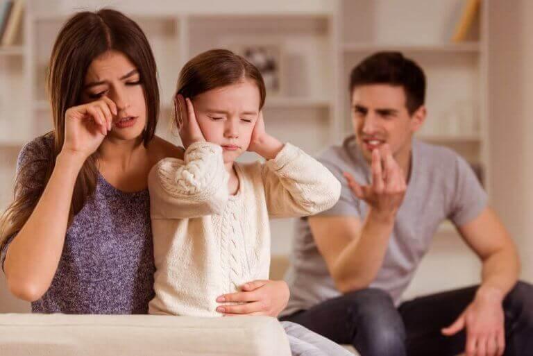 Ouders schaden kind door ruzie te maken