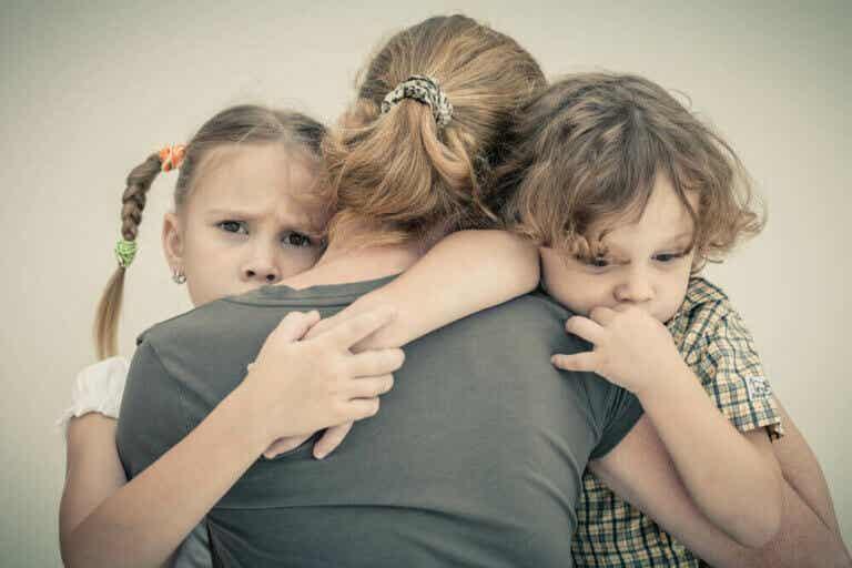 Je angst onder controle houden zonder je kinderen te beïnvloeden