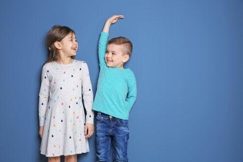 Sociale vergelijkingen tussen kinderen
