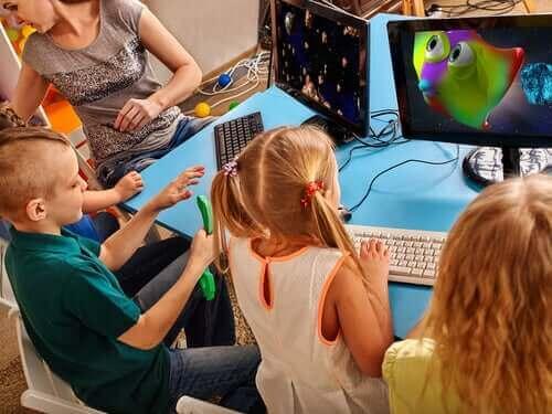 Kinderen zijn creatief met technologie