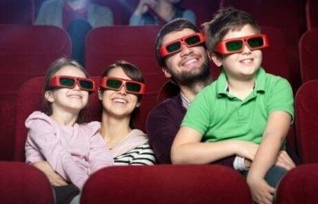 Film kijken in de bioscoop