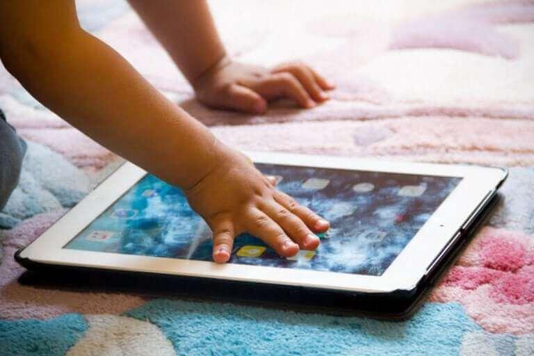 Apps op een tablet