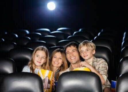 Samen met kinderen naar de bioscoop