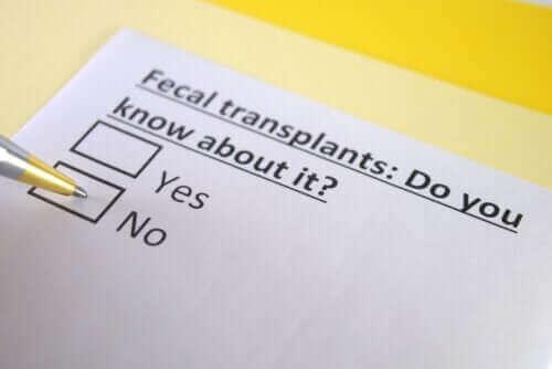 Weet je wat een fecale transplantatie is?