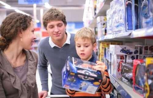 Sleutels om dwangmatig kopen bij kinderen te vermijden
