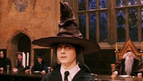 Harry Potter en de sorteerhoed