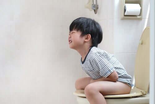 Encoprese is een probleem bij kleine kinderen