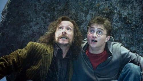 Harry Potter en Sirius Zwarts
