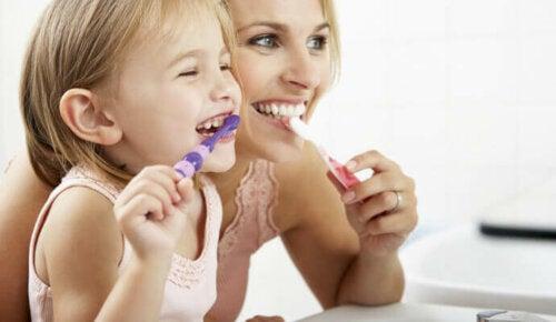 Hoe verzorg je het melkgebit van je kind?