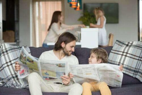 Hoe leer je kinderen iets door het goede voorbeeld te zijn