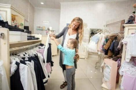 Kleding kopen met dochter