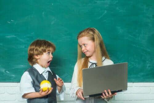 Kinderen op de basisschool