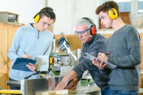 Studenten krijgen professionele training