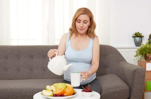 Voeding bij zwangerschap