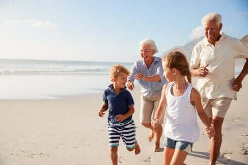 Herinneringen maken met grootouders