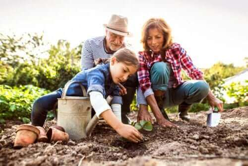 4 manieren om kinderen te helpen om hun grootouders te herinneren
