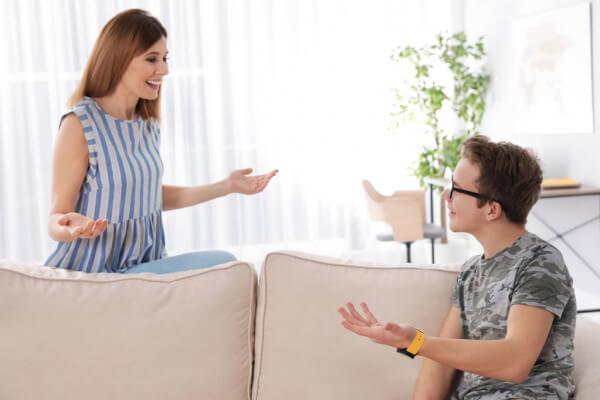 Het ondervragen van je tiener