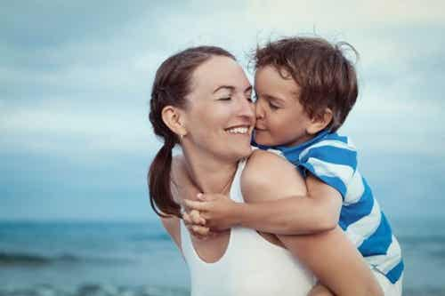 Er is niets mooier dan een knuffel van je kind