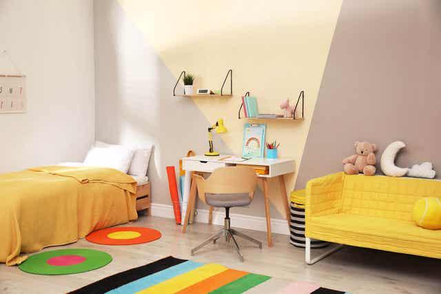 Laat je kind helpen de kleuren en inrichting te kiezen